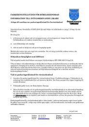 Information till intygsskrivande läkare - Öckerö kommun