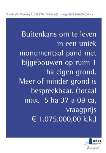 Download brochure (1) - Landelijkwonen.nl