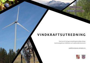 Länk till vindkraftsutredning Gällivare- och Jokkmokks kommun