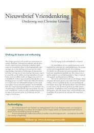 Nieuwsbrief 7 najaar 2011 - Iona Stichting