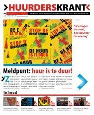 lente 2012 - Huurdersvereniging Amsterdam