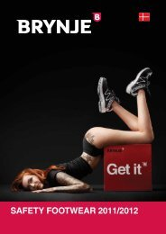 SAFETY FOOTWEAR 2011/2012 - Brynje A/S