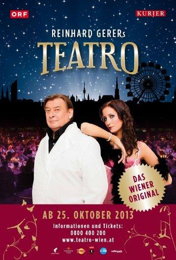 Presseaussendung TEATRO 2013 14.pdf - Teatro Wien