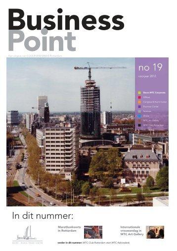 Business Point voorjaar 2012 - Beurs-World Trade Center