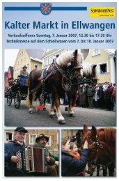 Kalter Markt 2007 - Schwäbische Post