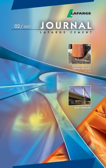 journal 2/2007 - Lafarge Cement, as