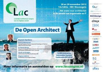 Meer informatie en aanmelden op www.laccongres.nl