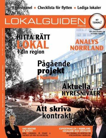 Norrland - Lokaler