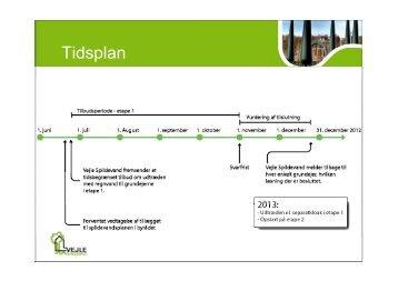 Tidsplan og økonomi - Vejle Spildevand