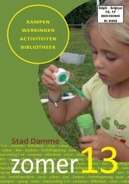 Download hier de Zomerfolder 2013 - Stad Damme