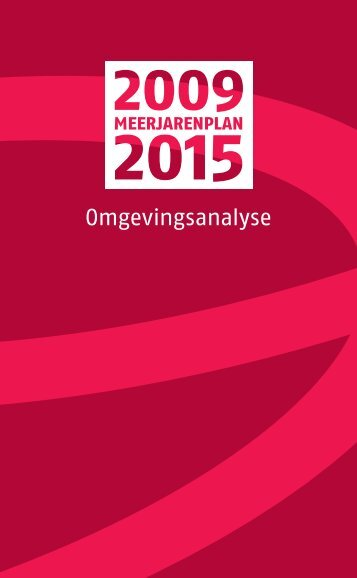 omgevingsanalyse 2009-2015 (pdf) - RISO-antwerpen