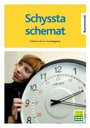 Schyssta schemat - Kommunal