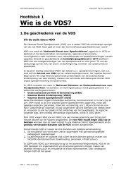 Wie is de VDS? - Vlaamse Dienst Speelpleinwerk