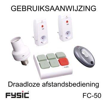 FC-50 manual, NL, ver1.0.indd - Fysic