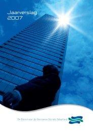 Jaarverslag 2007 - Dienst voor de Overzeese Sociale Zekerheid