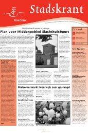 Stadskrant 12/2004 tim - Gemeente Haarlem