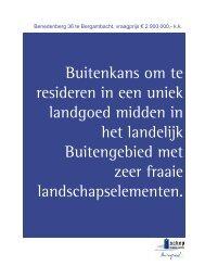 Download brochure - Landelijkwonen.nl