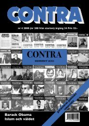 Nummer 4 2008 - Contra
