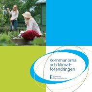 Kommunerna och klimatförändringen - Kommunerna.net