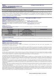 TRIOLET INVERSIONES SICAV S.A. - BNP Paribas