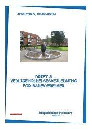 A 5 BAD D & V til lejerne 08-04-2013 - Boligselskabet Holstebro
