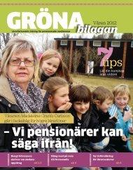 Gröna bilagan våren 2012 - Lärarförbundet