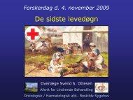 Svend Ottesen - Dansk Selskab for Palliativ Medicin