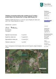 Tilladelse til råstofindvinding til Saint-Gobain-Weber A/S - Favrskov ...