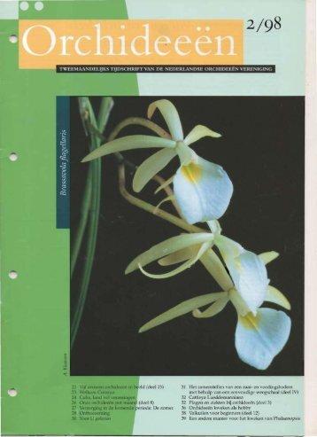 1998 - 2 - Orchideeën Vereniging Vlaanderen
