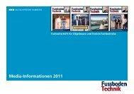 Fussboden Technik - beim SN-Fachpresse Verlag