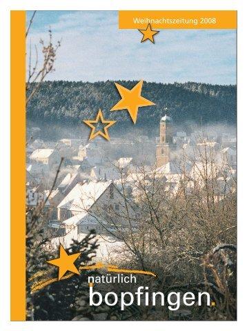Bopfinger Weihnachtsmarkt - Schwäbische Post