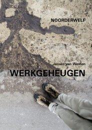WERKGEHEUGEN - Jeroen van Westen