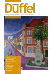 Editie juli-augustus 2011 - Gemeente Duffel