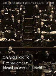 Gaard Kets (pdf) - Jonge Historici Schrijven Geschiedenis