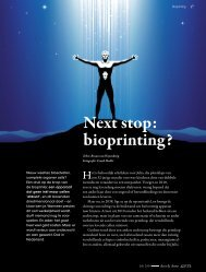 Next stop: bioprinting? - TEAL: Tissue Engineering Assisted by Laser