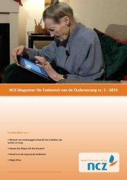 NCZ magazine Toekomst van de ouderenzorg 3