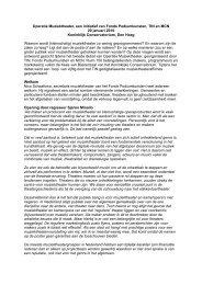 Operatie Muziektheater, een initiatief van NFPK+, TIN en MCN