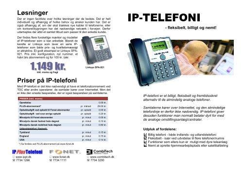 d4567321d60 Priser på IP-telefoni Løsninger - MicroCMS - nemt og billigt CMS