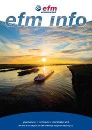 Jaargang 11 | uitgave 2 | DeCeMBer 2010 - Efm