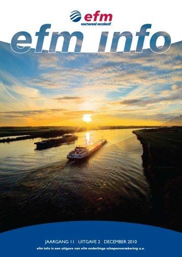 Jaargang 11   uitgave 2   DeCeMBer 2010 - Efm