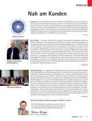 Nah am Kunden - beim SN-Fachpresse Verlag