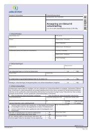 AB 501 - Ansøgning om tilskud til voksenlærling - klxml