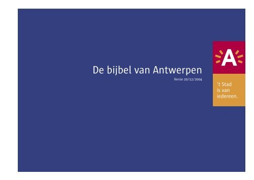 De bijbel van Antwerpen