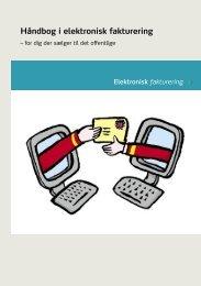 Håndbog i elektronisk fakturering - for dig, der sælger til det offentlige