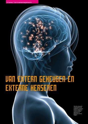 Van extern geheugen en externe hersenen - Guus Pijpers