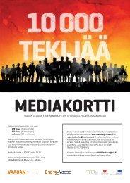 10 000 tekijää mediakortti - Energy Vaasa