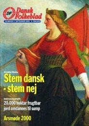 Årsmøde 2000 - Dansk Folkeparti
