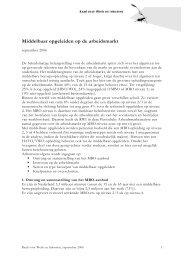 Middelbaar opgeleiden op de arbeidsmarkt - Raad voor Werk en ...
