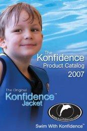Konfidence USA product catalog