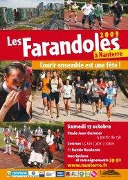 depliantfarandoles2009 - Mieux Vivre à Nanterre